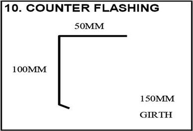 counter-flashing