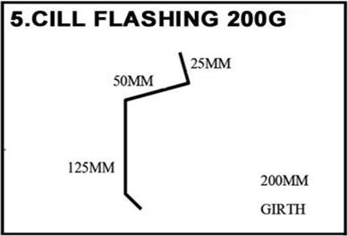 cill-flashing